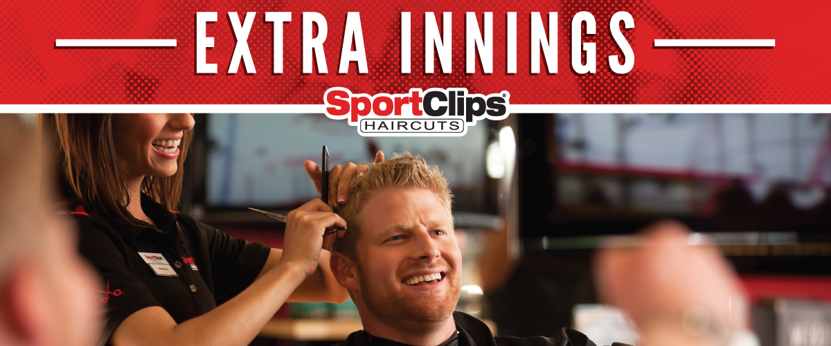 The Sport Clips Haircuts of Lockport Extra Innings Offerings