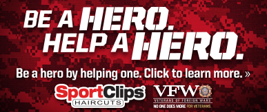 Sport Clips Haircuts of Lockport​ Help a Hero Campaign